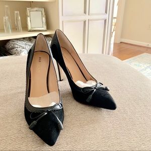 LIKE NEW Sole Society Suede Pumps